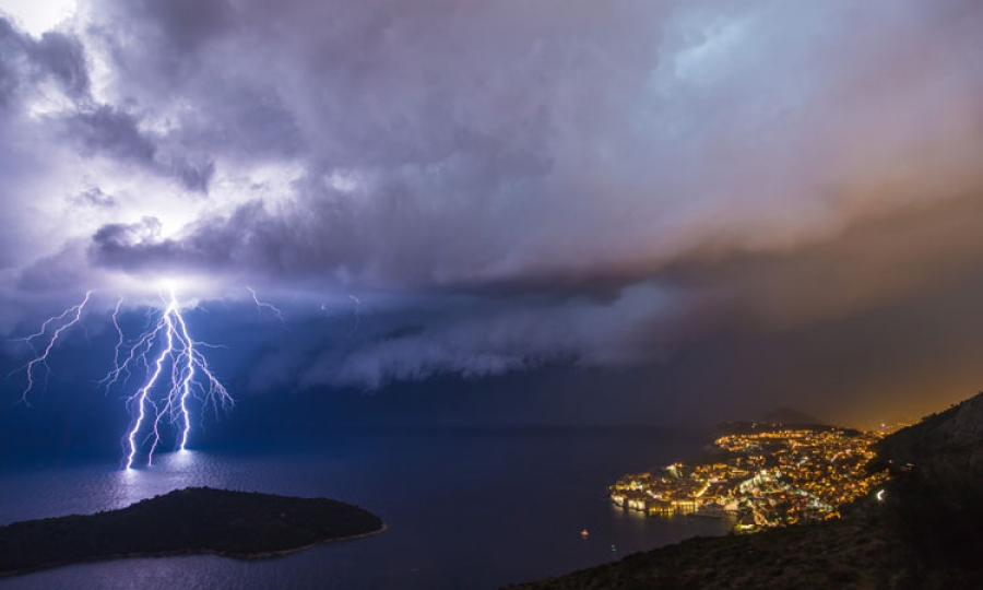 today dubrovnik was the wettest city in the world twice as much