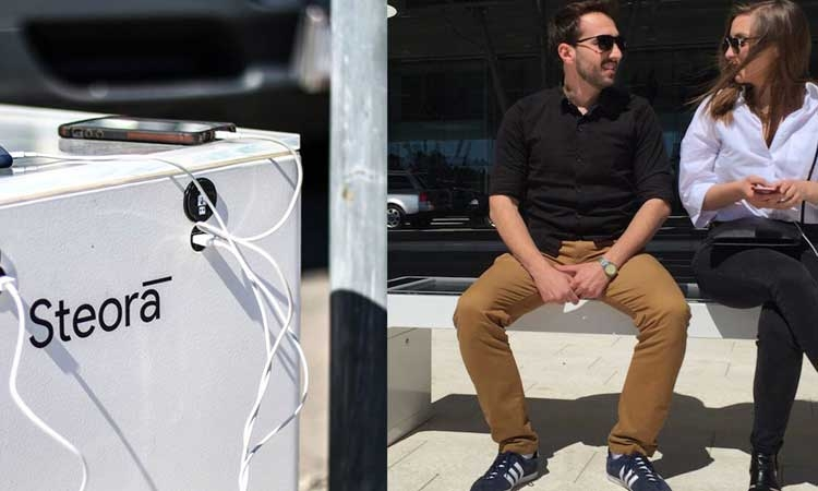 Smart bench a hit all over the world