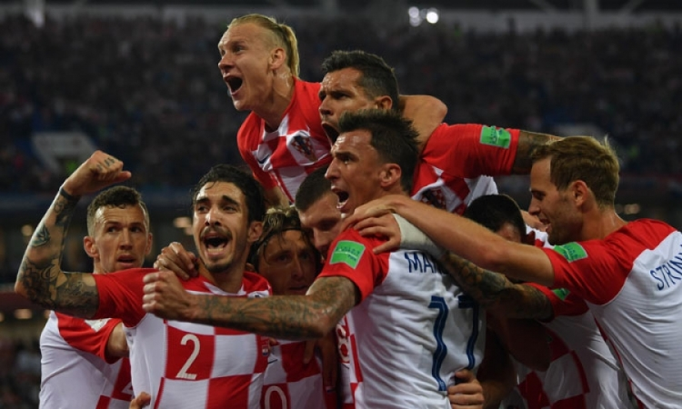 Croatian team to play in famous red and white checkered jerseys in the World Cup Final