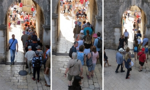 VIDEO – Tourists flow into the Old City of Dubrovnik