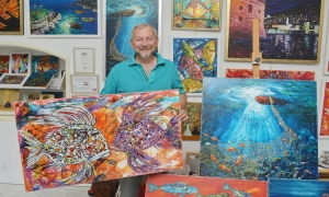 Dubrovnik painter joins exhibition in South Korea