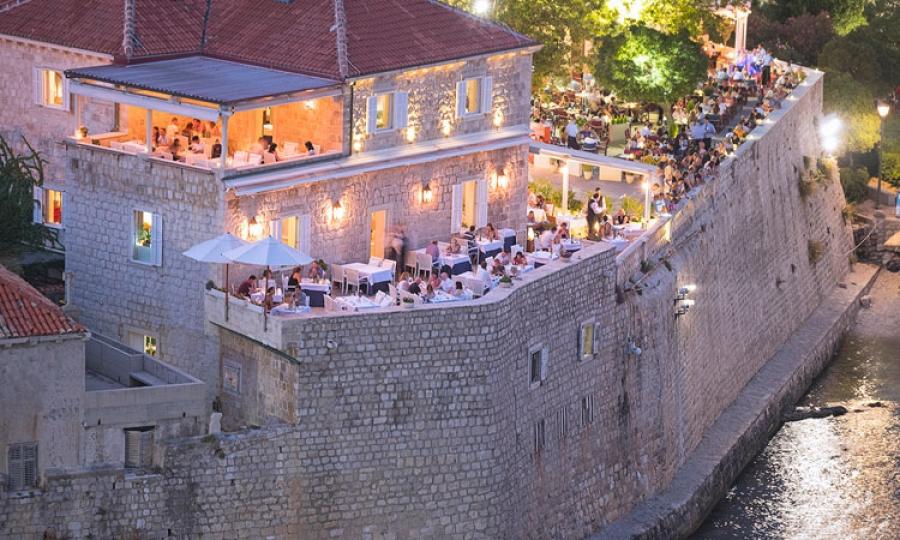 Dubrovnik Restaurant Featured By Cnn As Best Waterfront