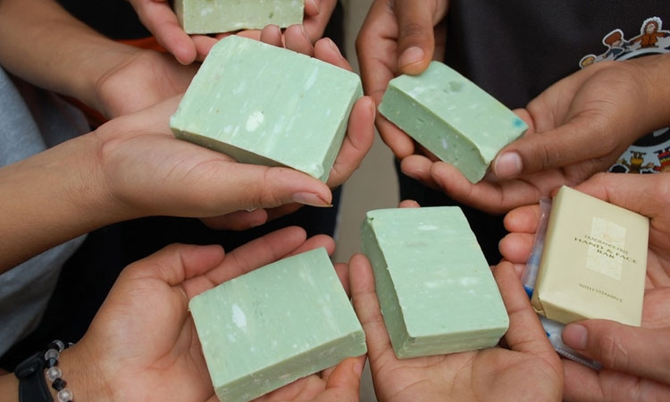 Recycling soaps for a cleaner future