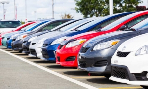 New car sales booming