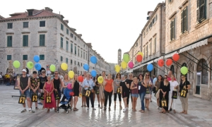 Women's Bank Walk held in Dubrovnik