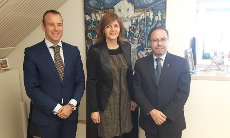 Albanian Ambassador encourages closer ties with Dubrovnik
