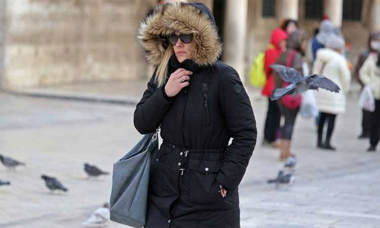 Winter to continue in Dubrovnik next week with below zero temperatures