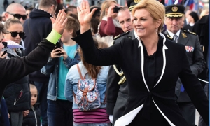 Grabar Kitarovic sees drop in votes compared to last presidential election