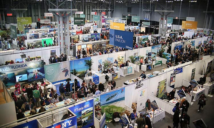 This year's New York Times Travel Show includes 569 exhibitors from 170 countries