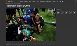 Croatian World Cup exploits enter Reuters pictures of the year for 2018