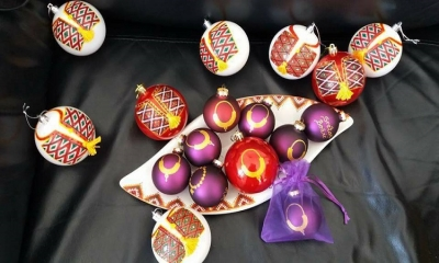 PHOTO - Christmas ornaments enriched with Konavle motifs by Pave Baletic