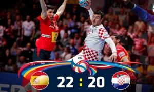 Croatia beaten by Spain in Euro Handball 2020 Championships Final
