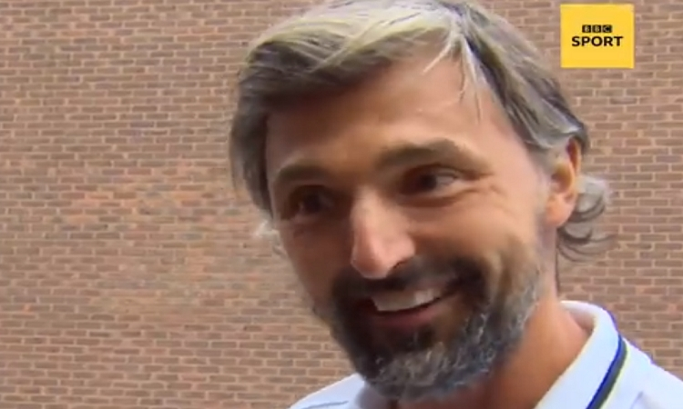 VIDEO - Goran Ivanisevic comments upcoming Croatia-England match