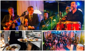 Venezuelan dinner delighted guests with the blend of food and music