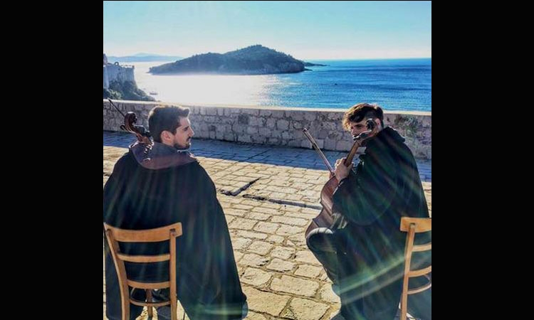 2Cellos in Dubrovnik
