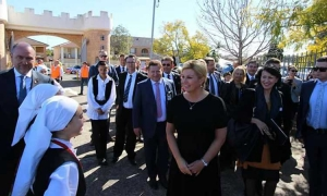 Croatia President on State visit to Australia and New Zealand