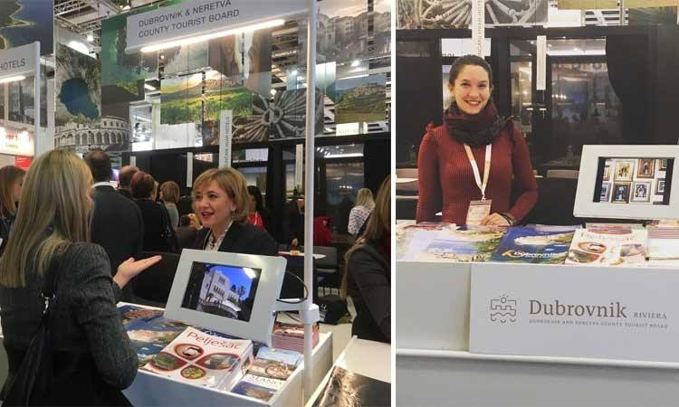 Dubrovnik-Neretva County Tourist Board at ITB tourism fair in Berlin