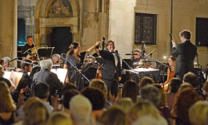 Opening night of opera festival in Dubrovnik