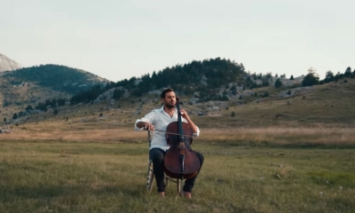 VIDEO – Once upon a time in America – Hauser plays in stunning nature