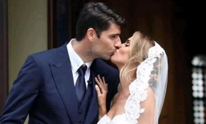 Croatian World Cup hero ties the knot