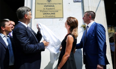 Ukraine opens new consulate in Dalmatian city