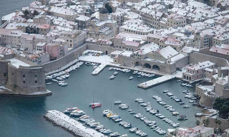 Could we see a repeat of the snow in Dubrovnik?