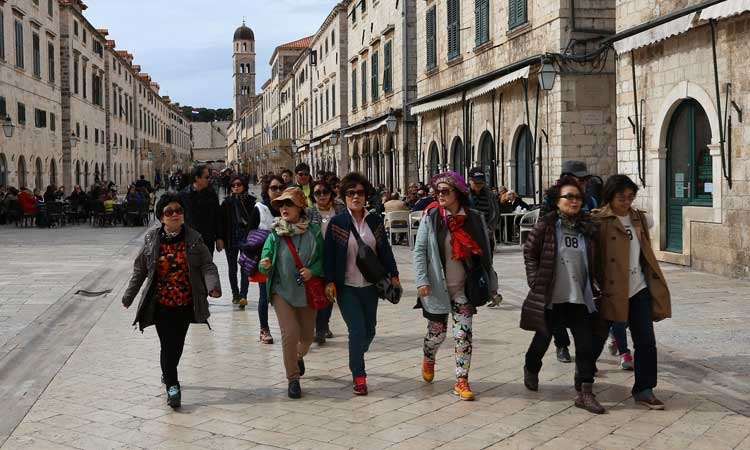 6,000 foreign tourists expected to welcome in 2019 in Dubrovnik