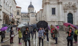 Dubrovnik in for a longer period of rain and unsettled weather