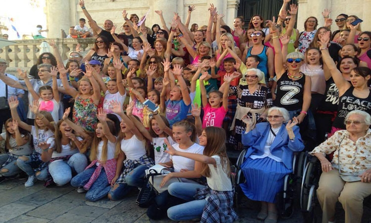 VIDEO Zumba flash mob makes Dubrovnik dance