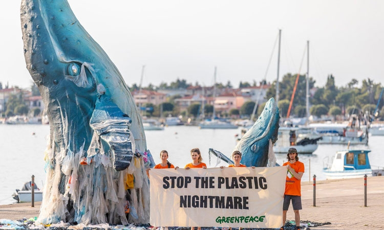 Greenpeace Croatia highlights plastic pollution in seas and oceans