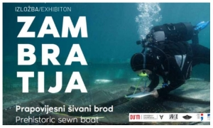 Zambratija – prehistoric sewn boat exhibition to stay open during October