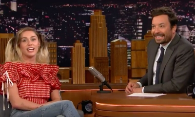 Miley Cyrus on Jimmy Fallon