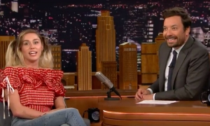 Miley Cyrus sings Google translated Croatian on Jimmy Fallon