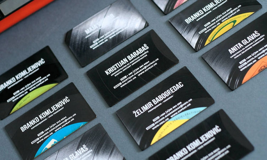 Vinyl business card wins awards in Los Angeles - The Dubrovnik Times