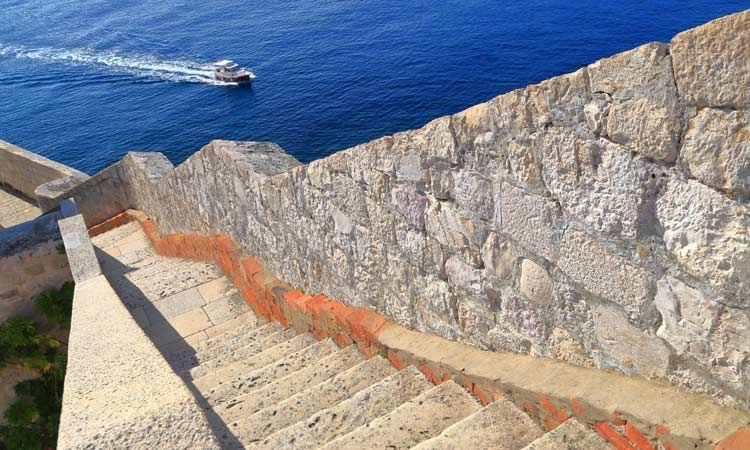 Really...there are that many steps in Dubrovnik!