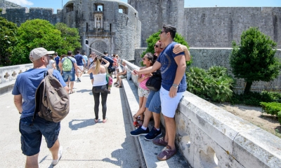 2017 could be a record year for tourist numbers in Dubrovnik