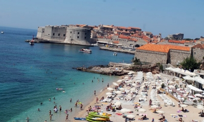 Summer on the Dubrovnik beaches