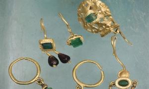 Roman golden earrings exhibition to open in Revelin