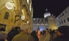 Third Advent Candle lit in Dubrovnik