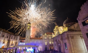 Dubrovnik's New Years celebration program