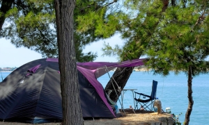 Camping in Istria always popular