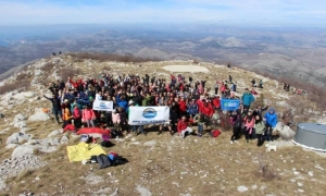 Celebrate International Women's Day at the top of Snijeznica