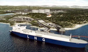 Floating LNG terminal
