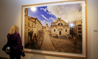 PHOTO GALLERY - Exhibition 'Vanishing Point' by Ahmet Ertuğ opens in Dubrovnik