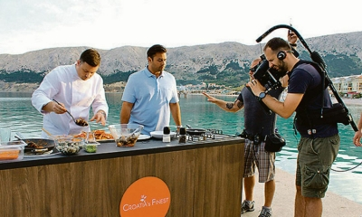 Croatian cuisine broadcast to the world on National Geographic