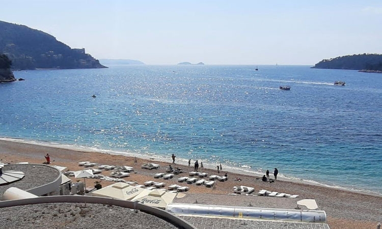 Banje Beach in Dubrovnik today