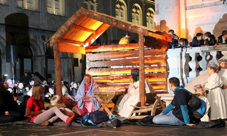 Live Nativity Scene in Dubrovnik tomorrow
