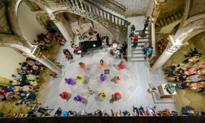Photo gallery: Dance rhapsody in the full atrium of the Rector's Palace