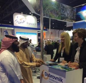 Dubrovnik presented at Arabian Travel Market in Dubai