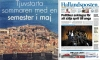 Dubrovnik advertised in Swedish newspaper